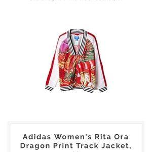 f51d8c014 Adidas Rita Ora Dragon print track jacket